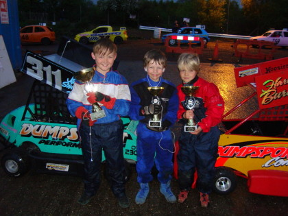 The top three winners in the FINAL